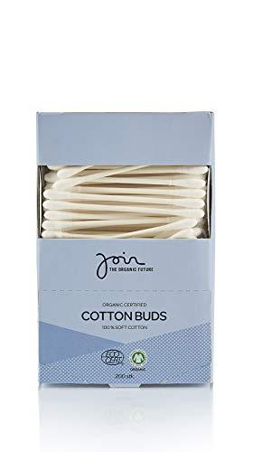Join - Biozertifizierte Wattestäbchen 100% weiche Baumwolle