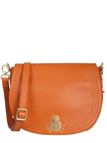 Longchamp Luxury Fashion Damen 1396956D56 Orange Leder Schultertasche | Jahreszeit Outlet