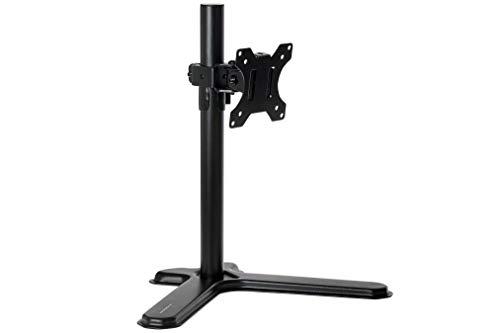ProperAV Soporte para Monitor Individual con Base de pie de 13 a 32 Pulgadas.
