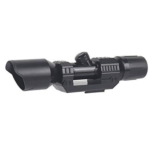 Zielfernrohr für Nerf Gun Spielzeug, Aufsatz aus Kunststoff mit Fadenkreuz Zubehör für Nerf Stryfe, Retaliator, Rapidstrike, Modul