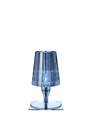 Kartell Take, Lámpara de mesa, Azul