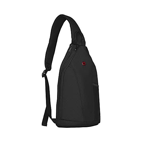 WENGER Monosling Bag BC Fun Schultertasche, Rucksack, Tablet 10 Zoll, 7l, ,11 x 22 x 40 cm Schwarz