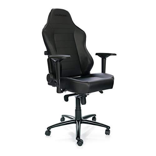 MAXNOMIC Commander S (III (Black)) Premium Gaming Office & Esports Chair