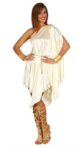 FIESTAS GUIRCA Disfraz Corto Mujer Griega Diosa del Olimpo Talla m