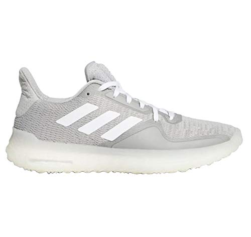 adidas Womens Fit Trainer, Grey/Coral/White, 7 Medium