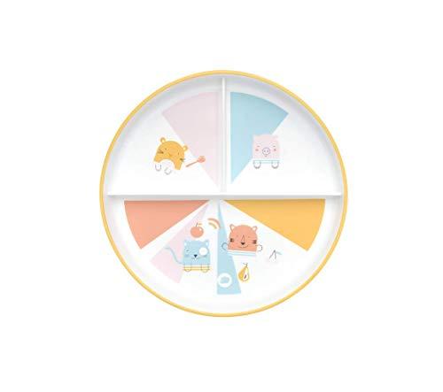 Bébé Confort Assiette d'Apprentissage avec Compartiments Domino 1 Unité 3105208500