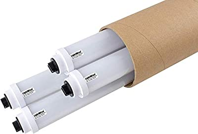 Durolux LWL36T12HO LED Sign Direct Replace Bulb w R17d Base, Doubleside Real 360 Degree Light, Great for Retrofit Sign Tubes Directly, 28W, Over 50% Energy Saving! (4pack | White, 3 FT | F36T12HO)
