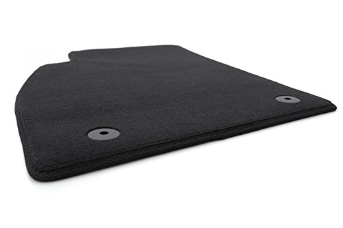 Fußmatte passend bei Insignia - Velours Automatte Matte Fahrermatte Fahrerseite vorn, schwarz