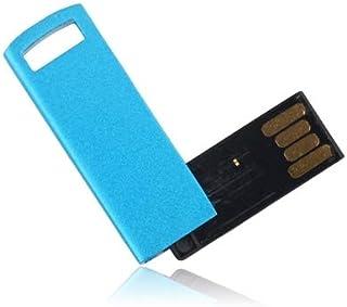 QGT USB Flash Drives 32GB Metal Series USB 2.0 Flash Disk (Blue)