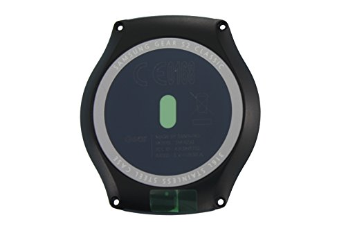 FoneJoy GH82-10804A - Carcasa trasera para Samsung Gear S2 Classic, color negro