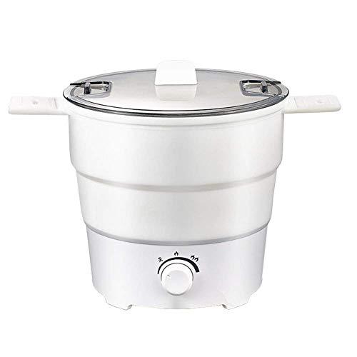 Multifunktionale Elektroherd Mini Studentenwohnheim Schlafzimmer Noodle Cooker Reise Folding Pot Convenient Haushaltselektroherd 1-2L Huangwei7210