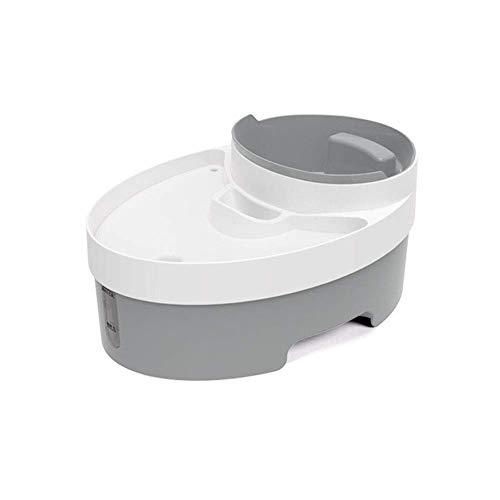 Feeder Multifuncional Material ABS Fuente Mascota, Dispensador de Agua Mascota Inteligente Circulación Automática Flujo de Agua Cuenco de Gato multifunción (3L