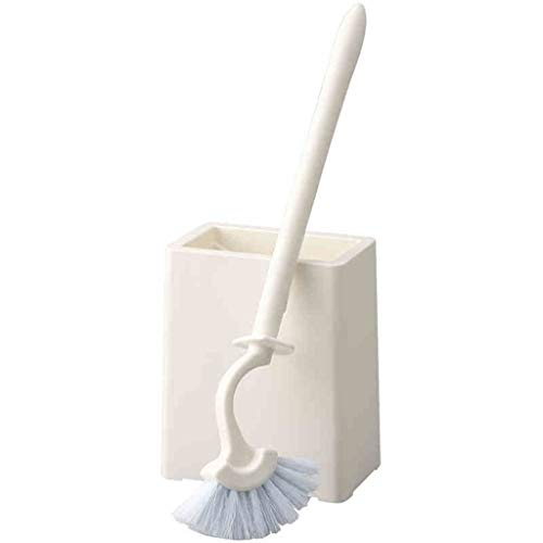 Cepillo Baño Juego de cepillos for inodoro Lavado duradero Cepillo de limpieza for inodoro Cepillo de descontaminación de esquinas Diseño curvo Costura de la esquina Fácil de limpiar Escobilla Baño Pa