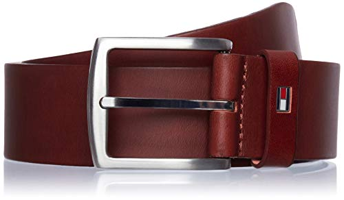 Tommy Hilfiger Herren NEW DENTON BELT Gürtel, Braun (DARK TAN-EUR 257), 90