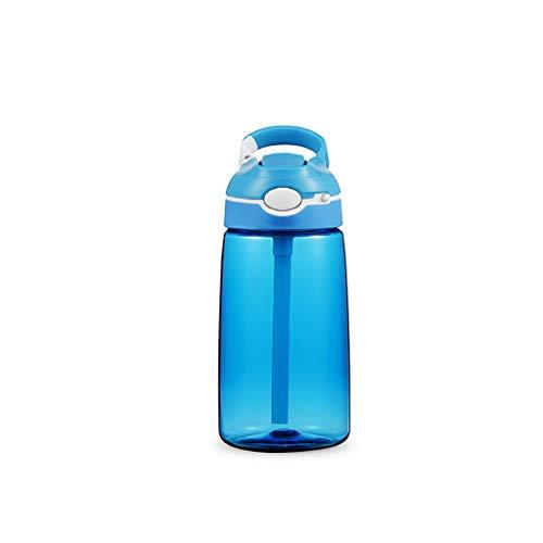 ZXYZZ Fitness Sportbeker met stroplastic beker Drop 450 ML Haak Handvat Pop-Up Nozzle met Lock Button Multi-Color Optioneel