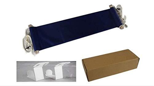 Pied Hamac - Portable réglable et repose-pieds sous le bureau Design ergonomique pour Office Home 17,8 cm de large, pour soulager les douleurs tendon améliorer la circulation sanguine bleu