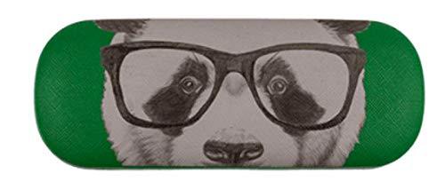 Schickes witziges Brillenetui grün