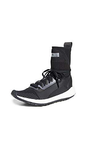 adidas by Stella McCartney Women's Ultraboost HD S. Sneakers, Black/White/Utility Black/Iron, 7 Medium US