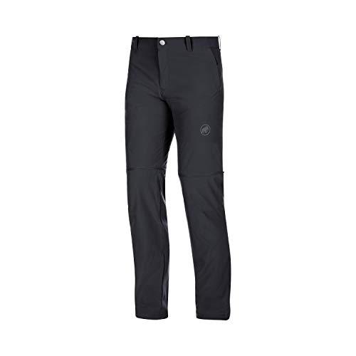 Mammut Herren Wander-Hose mit Reissverschluss Runbold Zip Off, schwarz, EU 52