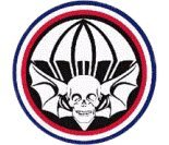 Military Vet Shop U.S. Army Widowmakers 502nd Division Window Bumper Sticker Decal 3.8'