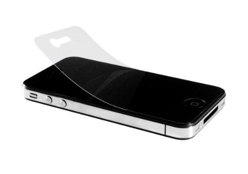 Artwizz ScratchStopper Schutzfolie für iPhone 4/4S (3x Bildschirm-Schutzfolie Vorderseite, 1x für Rückseite)