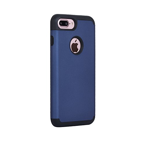 Phone Case for iPhone 8 Plus Case,iPhone 7 Plus Case Beimu Hybrid Hard Cover Printed Design Silicone Highly Durable Shock-Absorption Impact Defender for iPhone8/7 Plus 5.5 2017