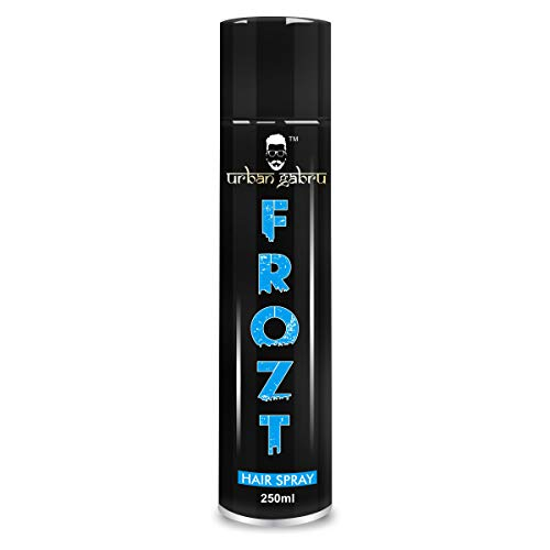UrbanGabru Frozt Hair Spray Extreme Hold for Women & Men| No Gas| Freeze Hair