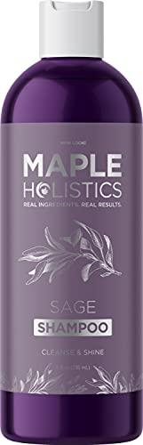 Sage Shampoo for Thin Hair Care - Sage Oil...