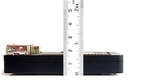 『SupTronics® Raspberry Pi 3B+ 3 Model B 2 B/B+用CNCケース ウルトラスリム アルミ製ヒートシンク搭載 吸熱構造 GPIO周辺機器対応』の4枚目の画像