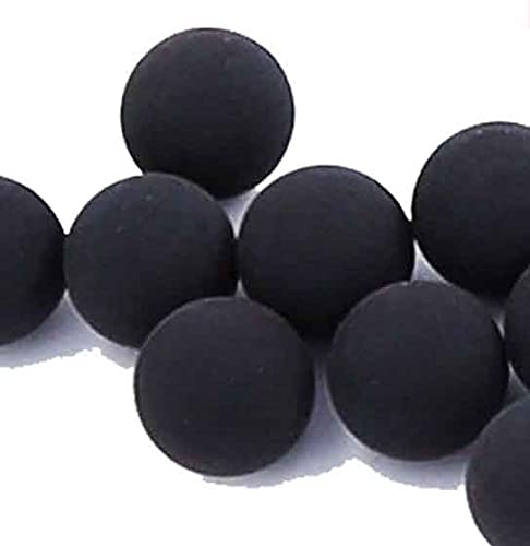 100 x Rubberballs Cal.68 Black Gummigeschosse Fritz-Cell kompatibel mit T4E HDS68