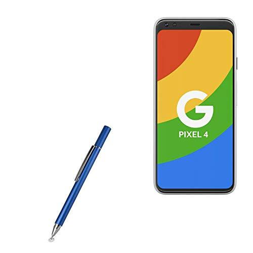 Stylus Pen for Google Pixel 4 XL (Stylus Pen by BoxWave) - FineTouch Capacitive Stylus, Super Precise Stylus Pen for Google Pixel 4 XL - Lunar Blue