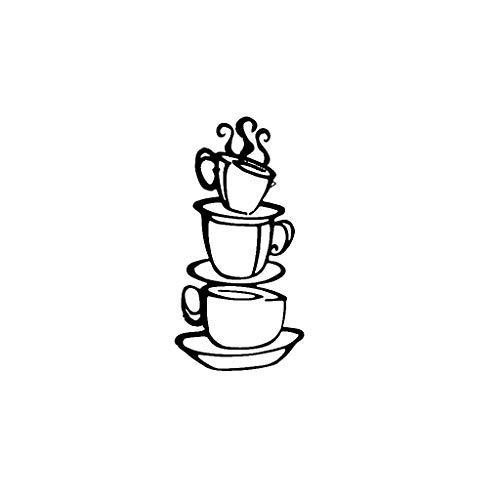 UKtrade Popular etiqueta engomada de la pared del hogar desprendible reglas de la cocina palabras pegatinas de pared etiqueta decoración del hogar vinilo arte mural