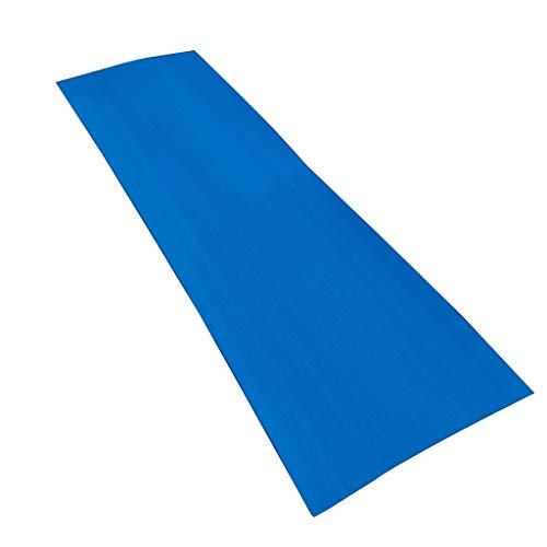 dailymall Selbstklebend Belag Teak Decking Blatt Bodenbelag Belag für Yacht Boote Kajak 220 x 65 x 0.5cm - Blau