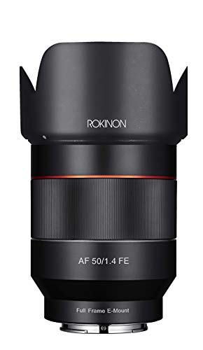 Rokinon IO50AF-E AF 50mm F1.4 Full Frame Auto Focus Lens for Sony E-Mount