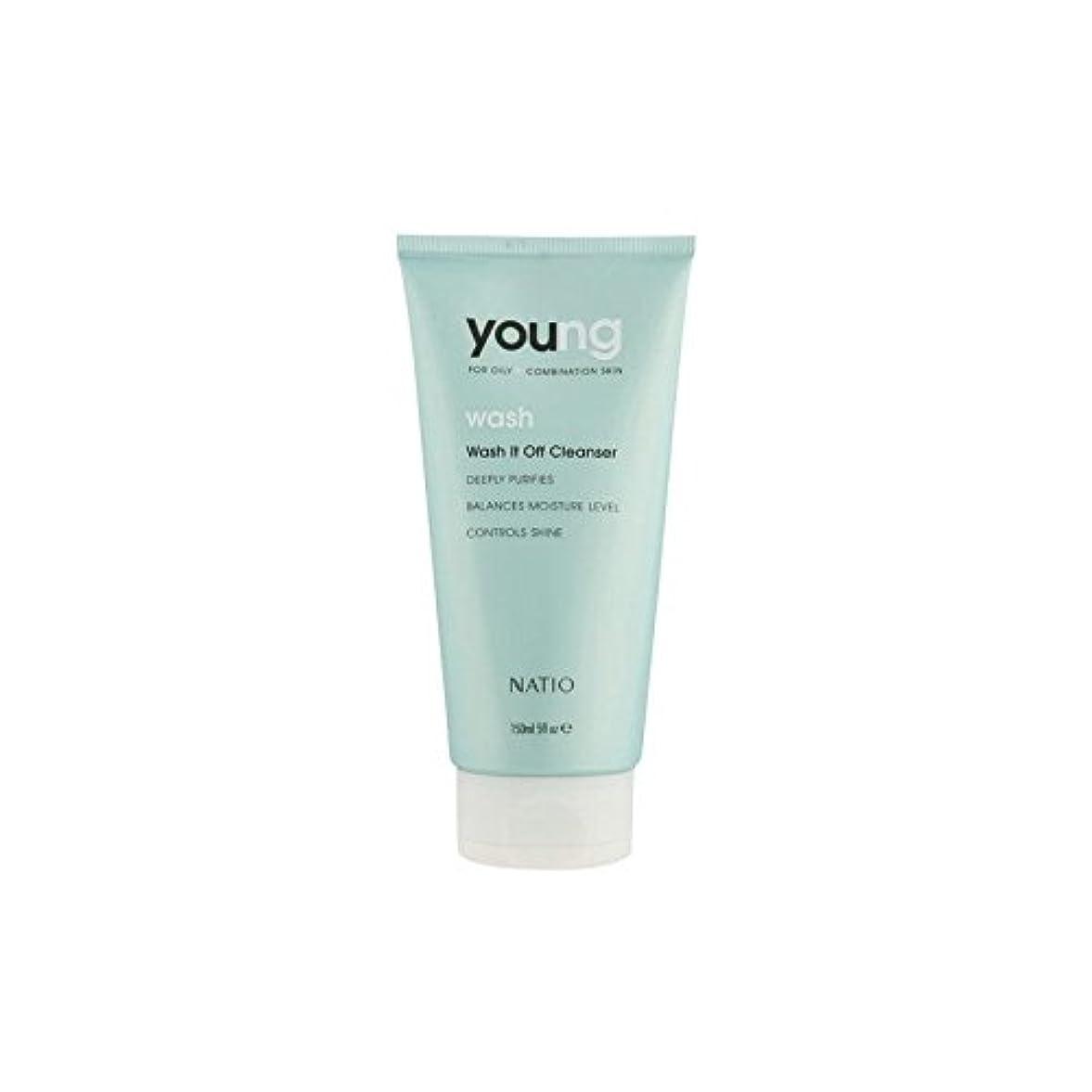 未就学寛大な合意Natio Young Wash It Off Cleanser (150ml) - 若いウォッシュそれオフクレンザー(150ミリリットル) [並行輸入品]