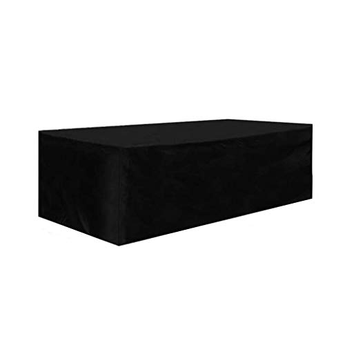 Mobilier rectangulaire couvre une variété de tailles, imperméable noir table chaises de patio extérieur for la couverture de patio extérieur grand 170 X 94 X70 cm (Size : 200x160x70 cm)