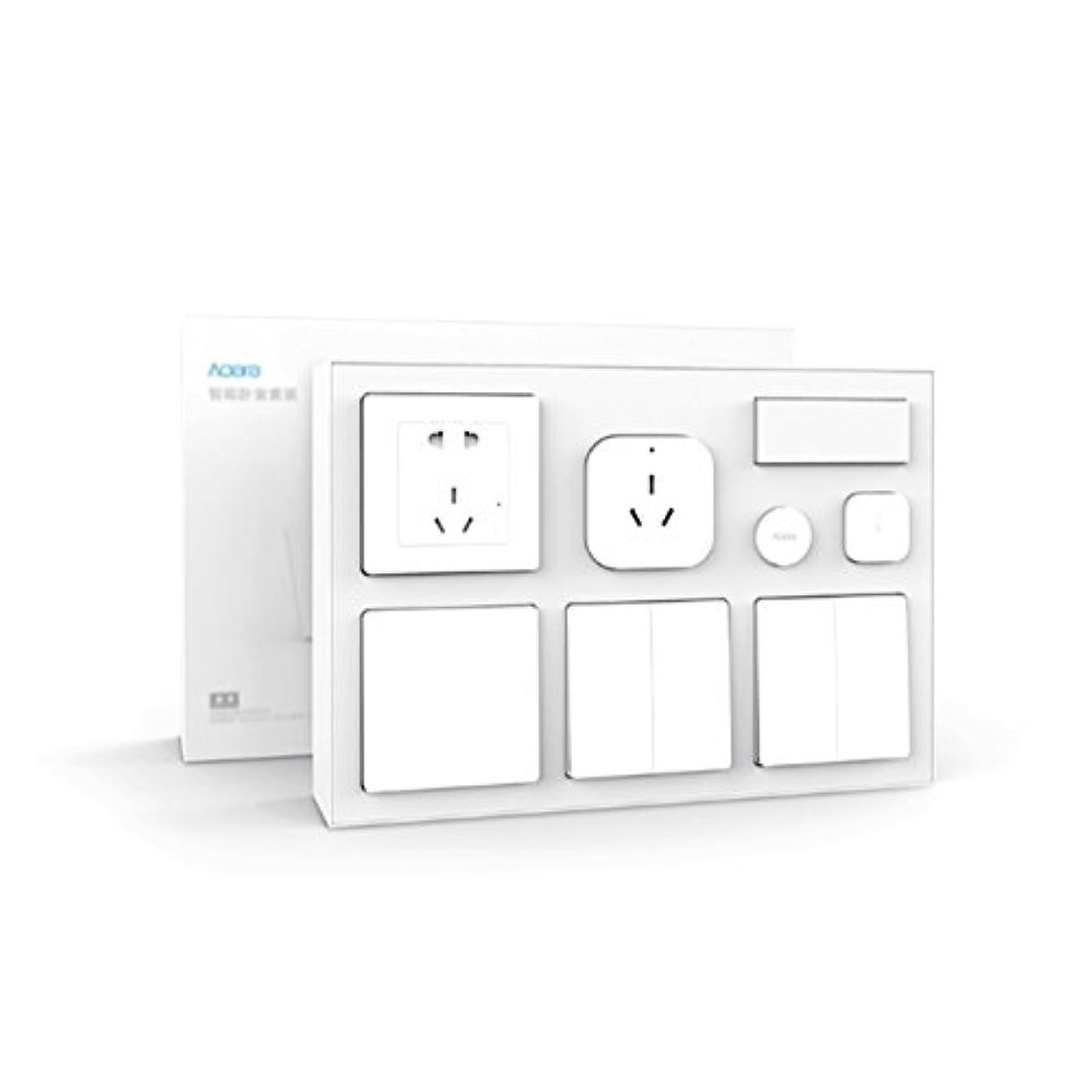 Aqara Air Conditioner Mate + Temperature and Humidity Sensor + Body Sensor + Wall Socket + Wall Switch + 2pcs Wireless Switch Smar.