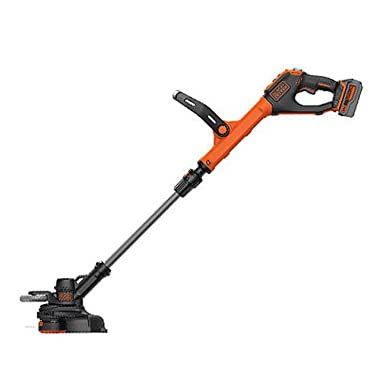 BLACK+DECKER LSTE523 20V Max Lithium POWERCOMMAND Easy Feed String Trimmer/Edger