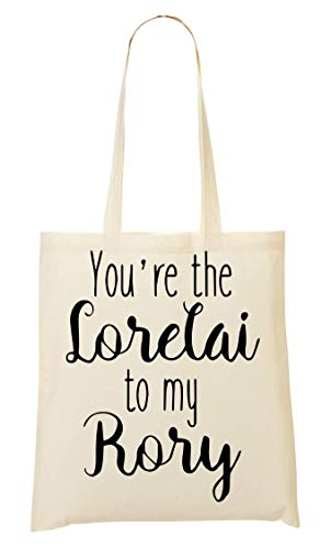 ANDRS You're The Lorelai To My Rory Typography Tragetasche Einkaufstasche