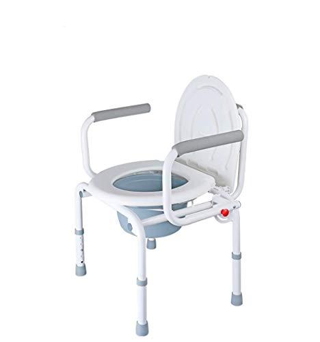 RRH-Bathroom Wheelchairs Bedside Commodes Seniors Toilet Chair Toilet Elderly Mobile Toilet Pregnant Women Chair Folding Chair Folding Stool Home With Commode Bath chair, commode, folding chair, mobil