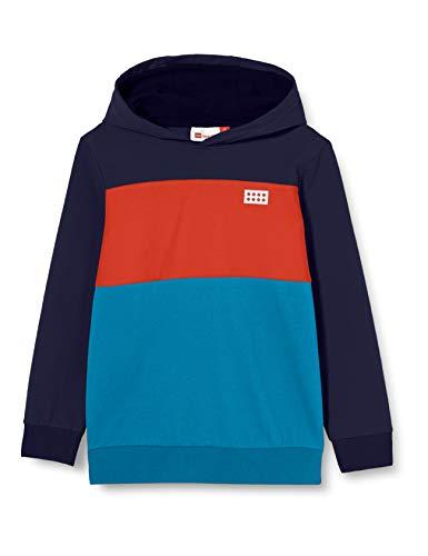 Lego Wear Jungen LWSAM Kapuze Sweatshirt, 590 Dark Navy, 128