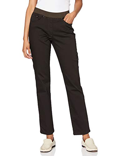 Raphaela by Brax Damen Pamina Jeans, Braun (Brown 52), 34