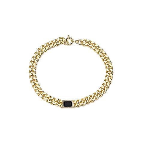 WYZQ Joyas Collares llamativos Joyas Accesorios para Collares Exquisita decoración Disco Charm para Mujeres y niñas Declaración, joyería