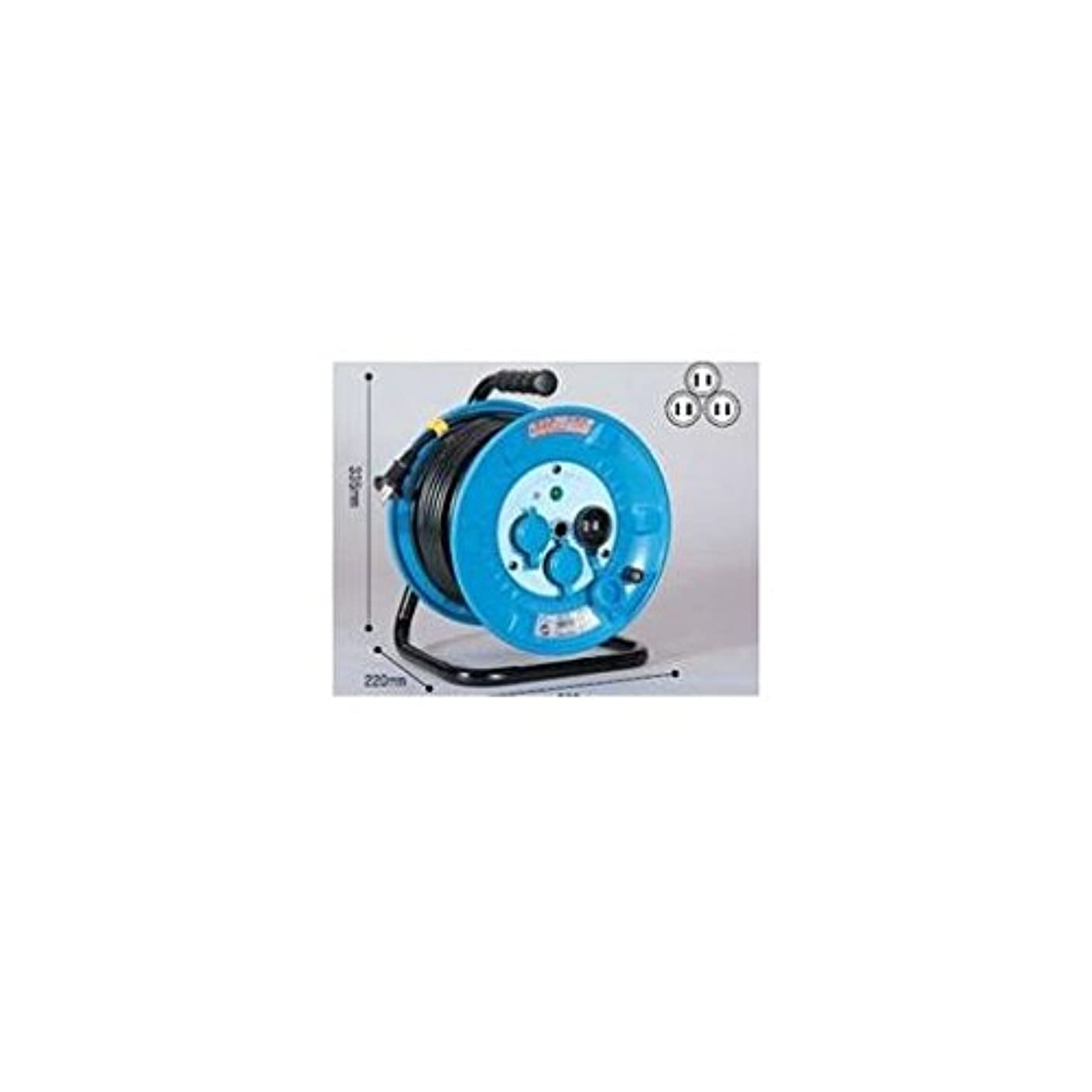 メーカー表面ラッドヤードキップリングCR43862 電工ドラム 防雨防塵型100Vドラム 2芯 30m