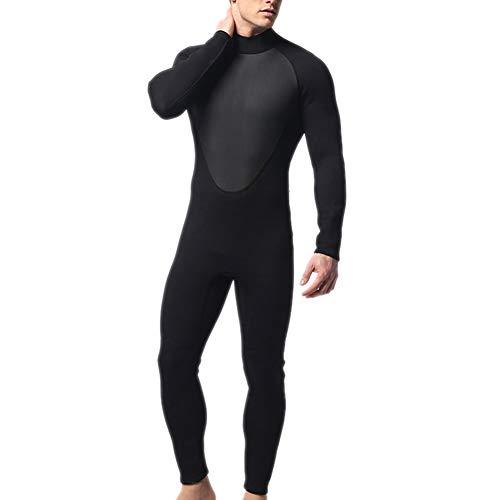 Syfinee Hombres Traje Neopreno Body Completo 3 mm Traje Buceo Estiramiento Natación Surf Snorkel