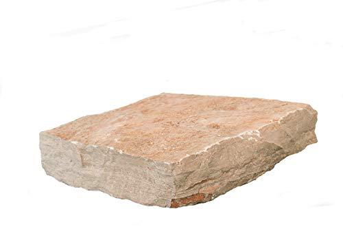 WUEFFE S.R.L. Pietra Trani Squadrata tranciata cm 3/5 - Pavimento Rivestimento Pietra Giardino (kg. 100)