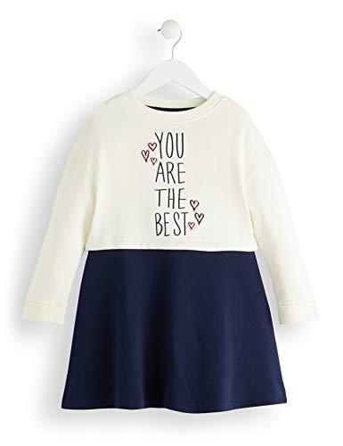 Amazon-Marke: RED WAGON Mädchen Printed Sweat Kleid, Mehrfarbig (Multicolour), 104, Label:4 Years