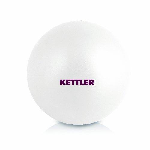 Kettler 07351-290 - Palla da Yoga, 25 cm, Colore Bianco Madreperla