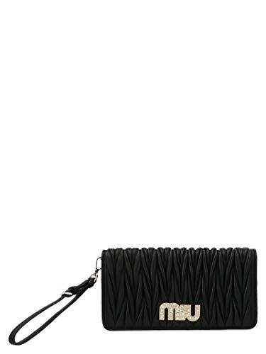 Miu Miu Luxury Fashion Damen 5DH0292BSQF0002 Schwarz Schultertasche | Frühling Sommer 20