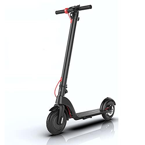 N / B Scooter eléctrico - 8.5 '' E-Scooter Inteligente Elegante y Plegable Ligero, batería Desmontable de 350W de Alta Potencia, con iluminación LED y Pantalla LED, Adultos y niños Super Regalos